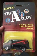 New Vtg 1983 Ertl The A-Team Collectible 1/64 Scale Die Cast Metal Van in Pkg