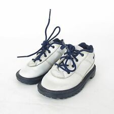 Nike ACG White Leather Boots  650146-141 Youth Kids sz 6C Vintage 2000