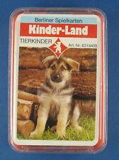 Quartett - Tierkinder - WERBEQUARTETT Allianz - BERLINER Spielkarten Nr 631 8409