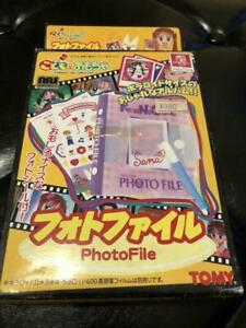 Tomy Kodomo No Omocha Children's Toy Photo files Rare Vintage Goods Draw anime