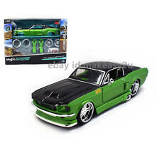 Maisto 1:24 1967 Ford Mustang GT Assembly Line KIT Diecast Model Car Green