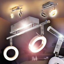 LED Deckenspot Design Chrom Deckenlampe Flur Wohn Zimmer Leuchte Küchen Strahler