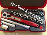Teng Tools Super Saver 34 Pce 3/8 Drive Ratchet Socket Extension Tool Set
