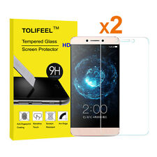 2Pcs 9H Crystal Premium Tempered Glass Screen Protector for Letv Leeco Le pro 3