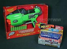 Air Zone 8-shooter Dart Blaster Foam Dart Gun + 45 Nerf N-Strike Suction Darts