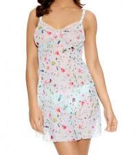 Nylon Floral Glamour Chemises for Women