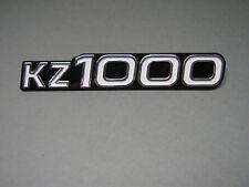 "NEU Emblem US ""KZ1000"" Seitendeckel Kawasaki Z1000 A ,US Emblem Sidecover KZ1000"