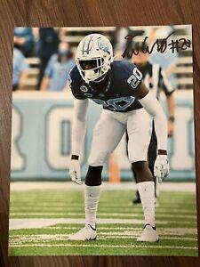 Tony Grimes SIGNED UNC TAR HEELS FOOTBALL 8X10 PHOTO- University North Carolina