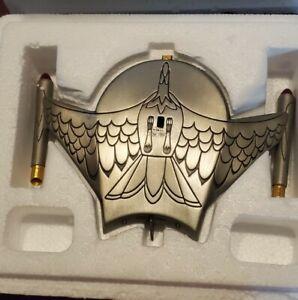 Star Trek Franklin Mint Collection, Romulan Bird of Prey, Pewter 1990