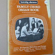 Libro de órgano acorde de la familia 6, para los modelos 18 botón de acordes