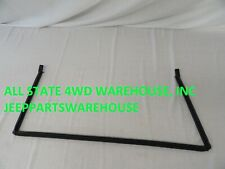 1997-2006 Jeep Wrangler TJ new rubber lower tailgate weatherstrip seal