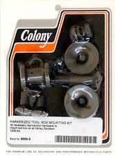 Harley 35-54 Tool Box Mount Kit Park Colony 9669-9