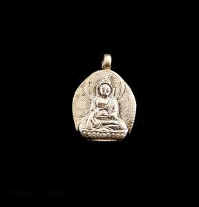 Anhänger Tibetischer Buddha Akshobhya Schmuck Buddhistische Tibet 6817 K19