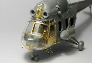 New 1/72 Soviet Helicopter Mi-2 Mil-2 Update Detail PE Etched For HobbyBoss D528
