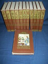 The Champlin Encyclopedia 1953 Complete Set 12 Books