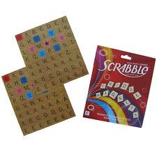 Complete SCRABBLE REFRIGERATOR GAME SET Fridge Magnets ABC letter alphabet tiles