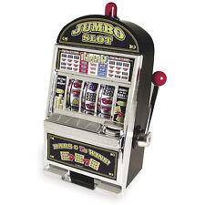 NEW Vegas Style Jumbo Slot Machine Coin Savings Bank