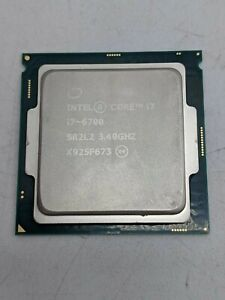 Intel Core i7-6700 SR2L2 8M Cache 3.4GHZ 6th Gen Quad-Core Processor -TT1109