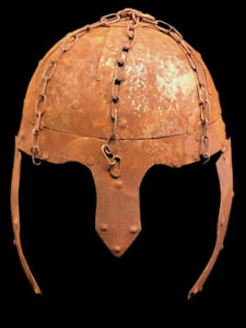 RARE ANCIENT GREEK IRON MILITARY HELMET CIRCA 690-1000 A.D. (1)