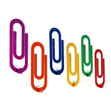 Metal Coat Rack Wall Hooks Steel Clips Handmade Multicolore Hanger FREE SHIPPING