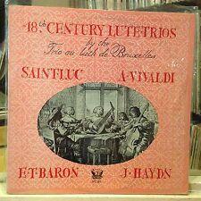 [CLASSICAL]~EXC LP~TRIO AU LUTH DE BRUXELLES~18th Century Lute Trios~[VIVALDI~BA