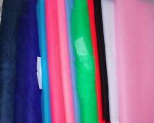 Tüll (€3,50/m²) 1m Faschingstüll Karnevalstüll viele Farben 1,40m breit