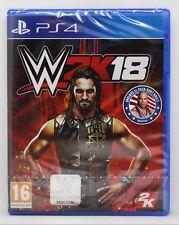 WWE 2K18 WWF 2018 2K 18 - PLAYSTATION 4 PS4 PLAY STATION 4 - PAL ESPAÑA - NUEVO