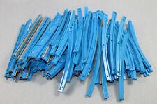 Lego 12 V Schienen blau, Kurven und Gerade Konvolut