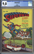 SUPERMAN #52 CGC VF/NM 9.0   HIGHEST CGC GRADE - ACTION COMICS #179 - 1953