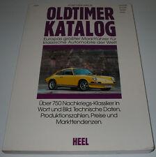 Oldtimer Katalog Europas Größter Marktführer klassische Automobile in Wort Bild!