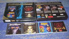 Starcraft PC BOX Blizzard BOX Diablo BOX Warcraft BOX Blizzard Anthology