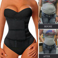 Fajas Women Neoprene Waist Trainer Corset Trimmer Belt Body Shaper Cincher Sport