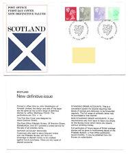 GB 1982 New Regional Definitive Values Scotland FDC Edinburgh HS