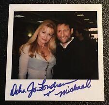 Debra Jo Fondren Signed Polaroid Original Photo Autograph Playboy Playmate Year