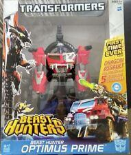 Transformers Transformer Beast Hunters Optimus Prime Voyager Figure Hasbro LVL 2