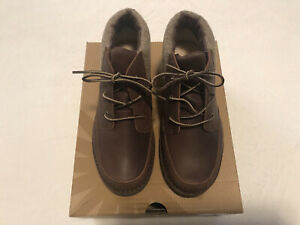 NEW Kids Boys UGG AUSTRALIA Orin Brown Leather Booties Shoes Size 5