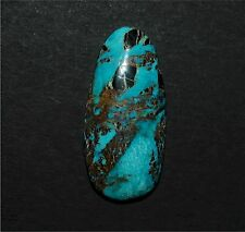 Stormy Mountain Natural (Old Stock) Turquoise Cabochon, Rough, Gem, Lapidary