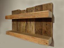 Kleines Massivholz Gewürzregal Küchenregal Gewürzboard shabby pallet rustikal