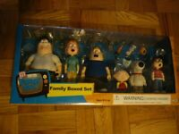 Family Guy Action Figure Set New In Box Mezco
