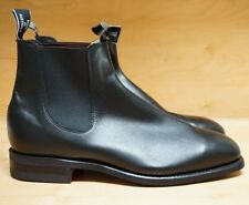 NEW! R.M. WILLIAMS RM 8.5 G 9.5 BOOTS CHELSEA YEARLING BLACK LEATHER $595