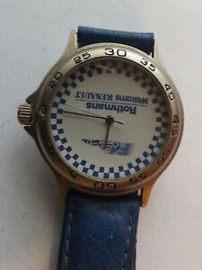 gents stainless steel cased quartz -rothmans williams renault watch GWO