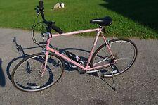 """Vintage Schwinn Prelude 12 Speed Tall 25"""" 62cm Road Bike Bicycle **ICE PINK**"""