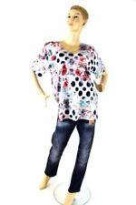 MAGNA in Größe Damenblusen, - tops & -shirts mit Rundhals-Ausschnitt