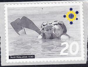 Australia Cinderella Australians No 7 Mint Peel & Stick