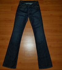 CITIZENS OF HUMANITY JEANS high rise bootcut stretch denim sz 24 NEARLY NEW $238