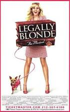 LEGALLY BLONDE THE MUSICAL (BROADWAY) Movie POSTER 27x40