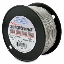 SuperSoftStrand #4 (11kg)- 259m(850ft) Vinyl Coated Stainless Steel Picture Wire