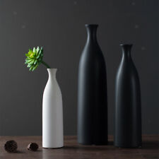 Nordic Style Ceramic Vases Decorative Standing Flower Vase Black L