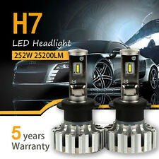 H7 252W 25200LM LED Headlight Kit Conversion Bulbs 6000K Canbus High Power