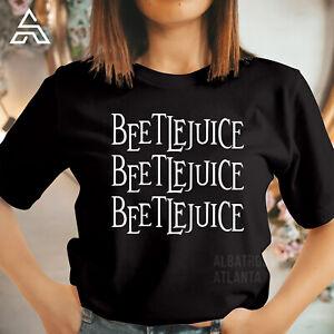 BEETLEJUICE HALLOWEEN T shirt Horror Comedy Movie Costume Gift Tshirt 1761